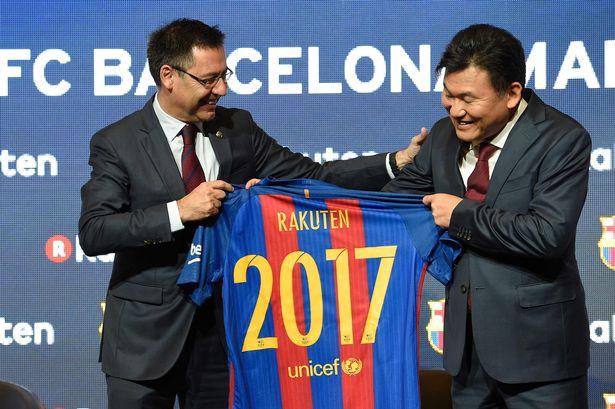 rakuten, barcelona
